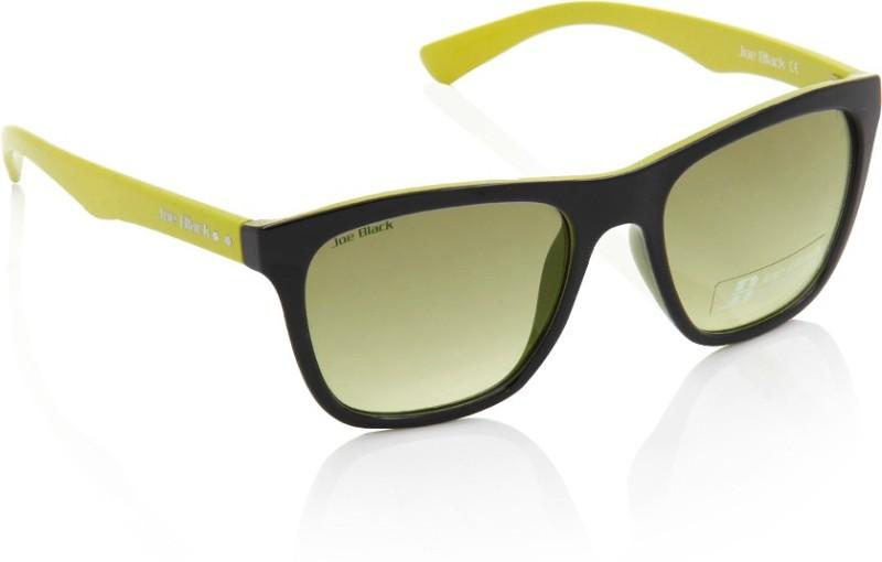 Joe Black Wayfarer Sunglasses(Yellow)