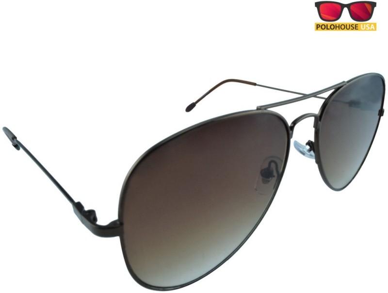 Polo House USA Aviator, Oval, Spectacle , Sports Sunglasses(Multicolor) image