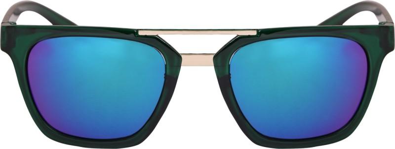 Reyda Wayfarer Sunglasses(Blue) image