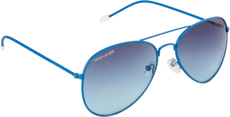 Danny Daze Aviator Sunglasses(Blue)