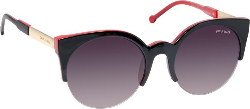 David Blake Cat-eye Sunglasses(Violet) image