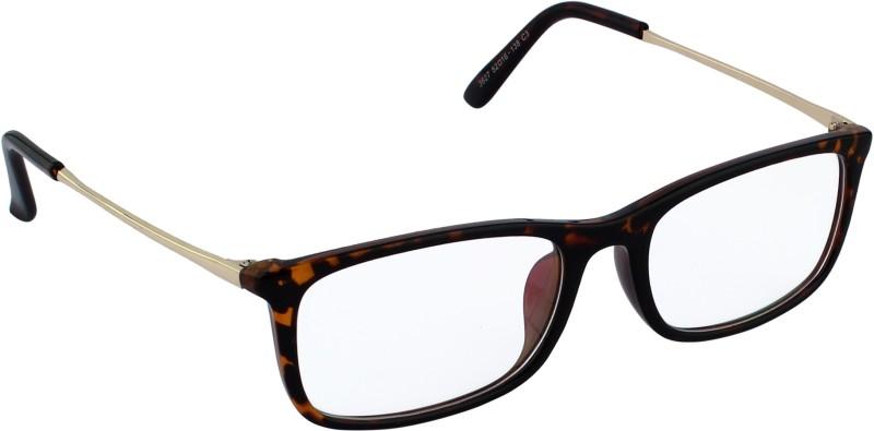 20 Dresses Rectangular Sunglasses(Clear)
