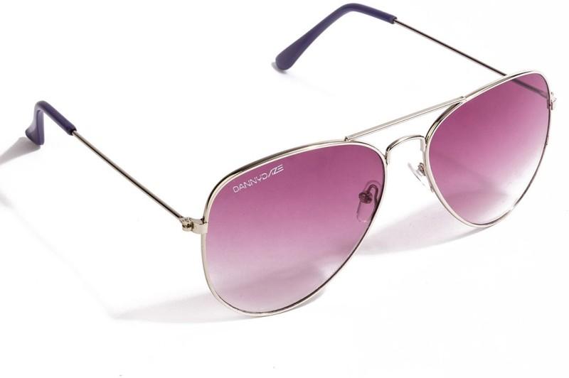 Danny Daze Aviator Sunglasses(Violet) image
