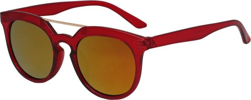 Reyda Wayfarer Sunglasses(Yellow) image