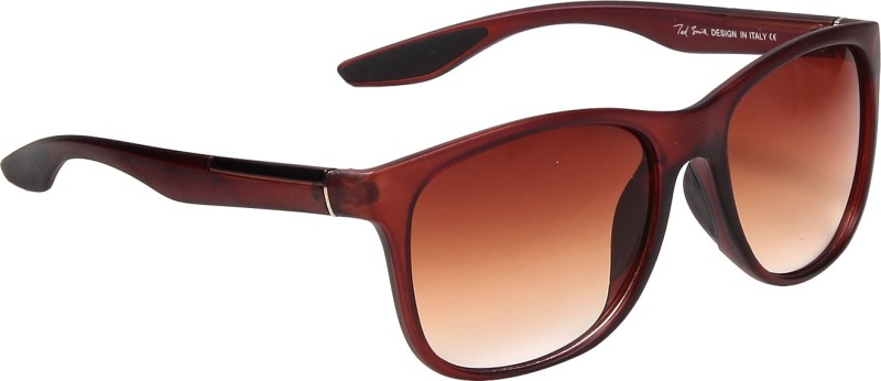 Ted Smith Wayfarer Sunglasses(Brown) image