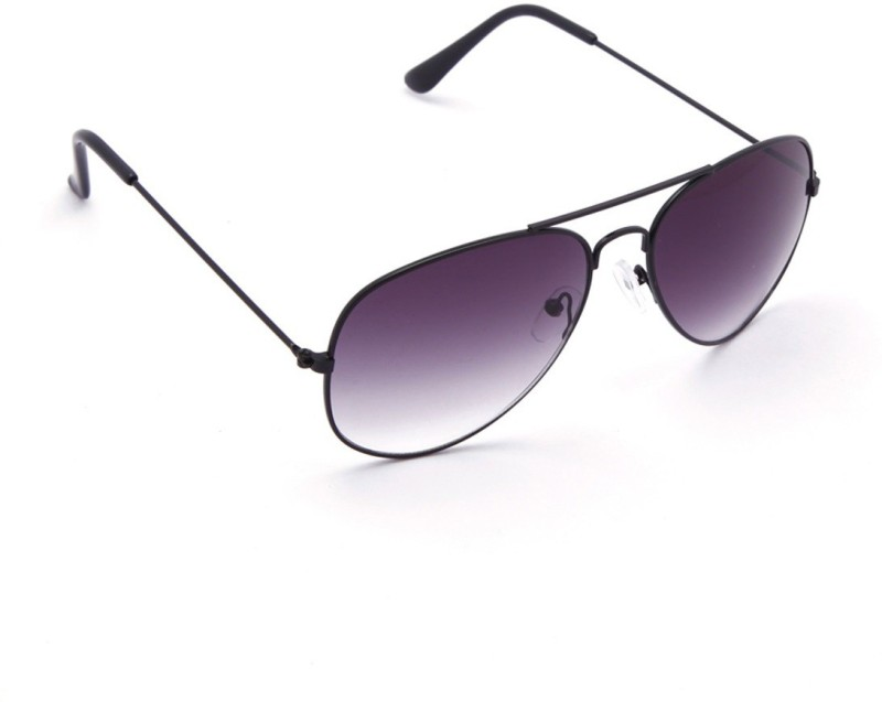 Avner Aviator Sunglasses(Black) image