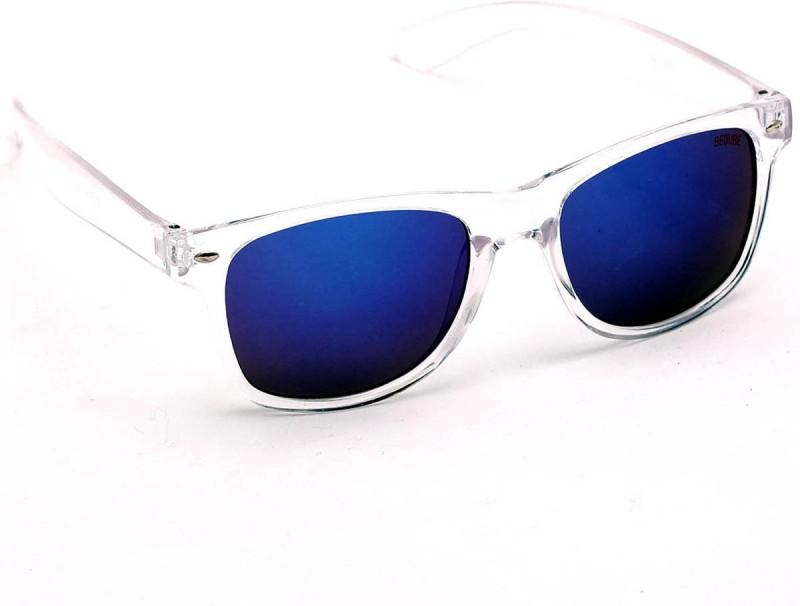 Beqube Wayfarer Sunglasses(Blue) image