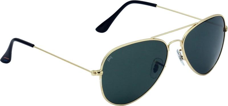 Fave Aviator Sunglasses(Green) image