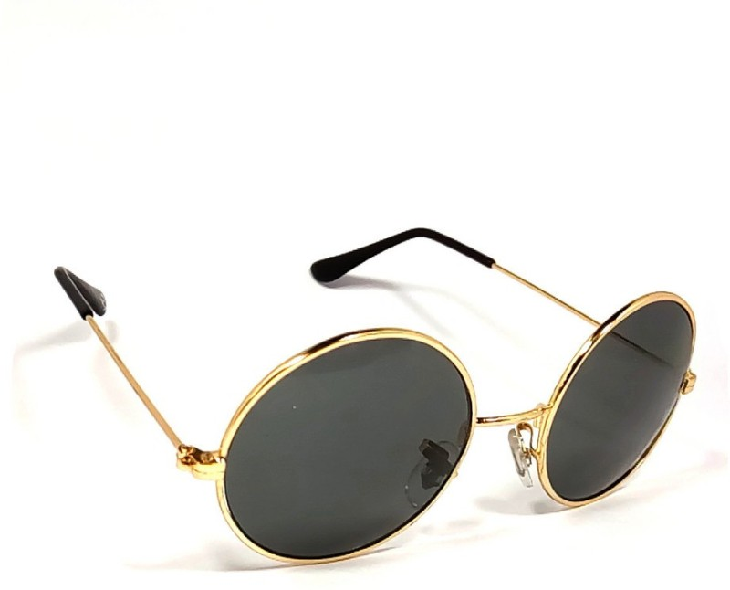 Aventus Round Sunglasses(Black)
