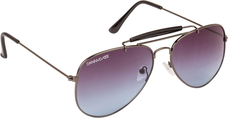 Danny Daze Aviator Sunglasses(Violet)