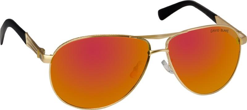 David Blake Aviator Sunglasses(Yellow) image