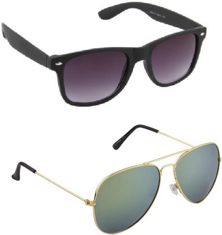 Irayz Aviator Sunglasses(Green) image