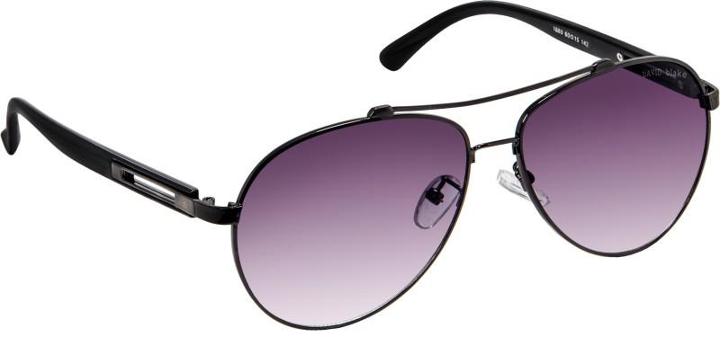 David Blake Aviator Sunglasses(Grey) image