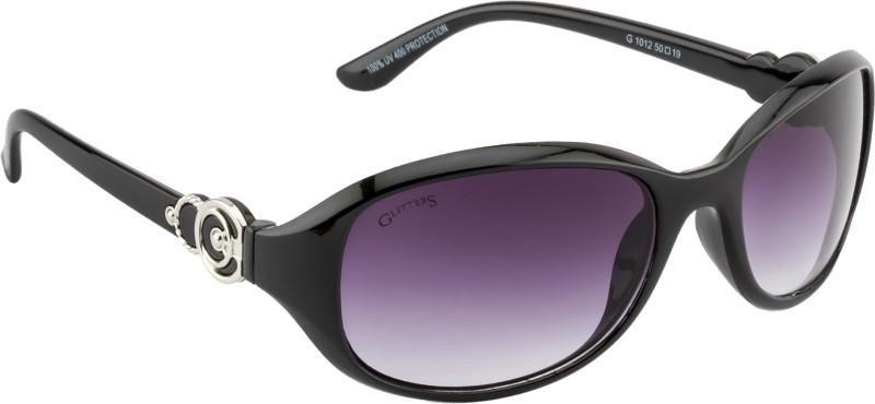 Glitters Rectangular Sunglasses(Black) image.