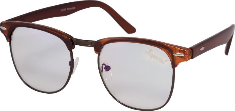Imperial Club Wayfarer Sunglasses(Clear)