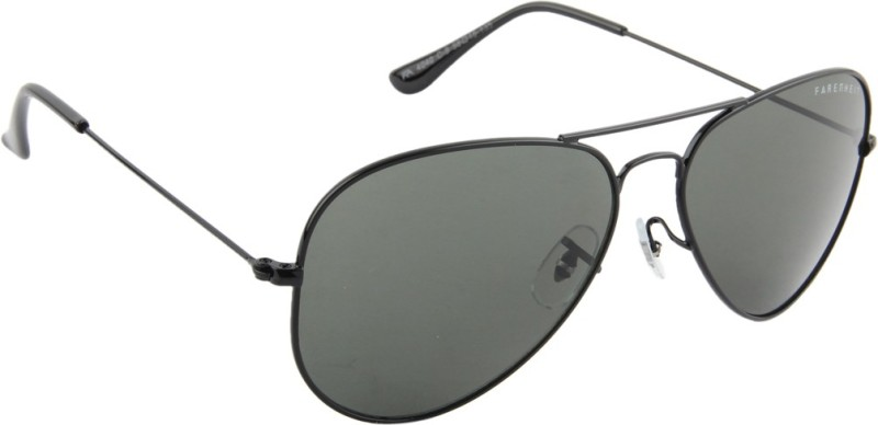 Farenheit Aviator Sunglasses(Green) image