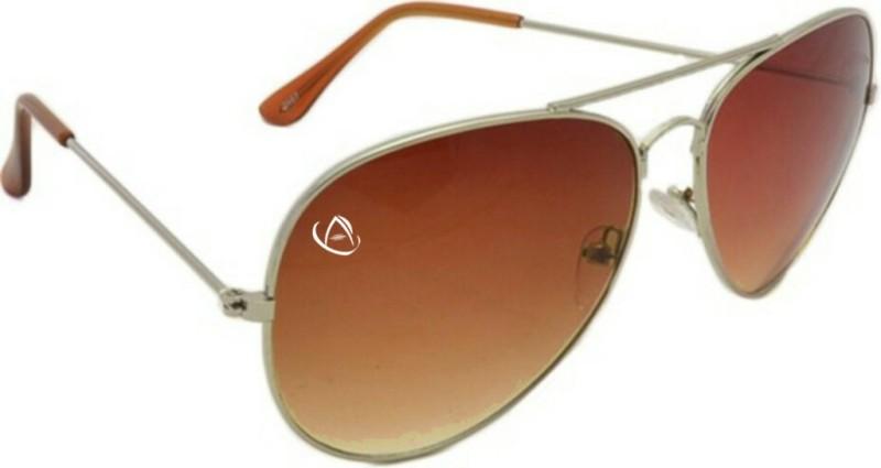 Aventus Aviator Sunglasses(Brown)
