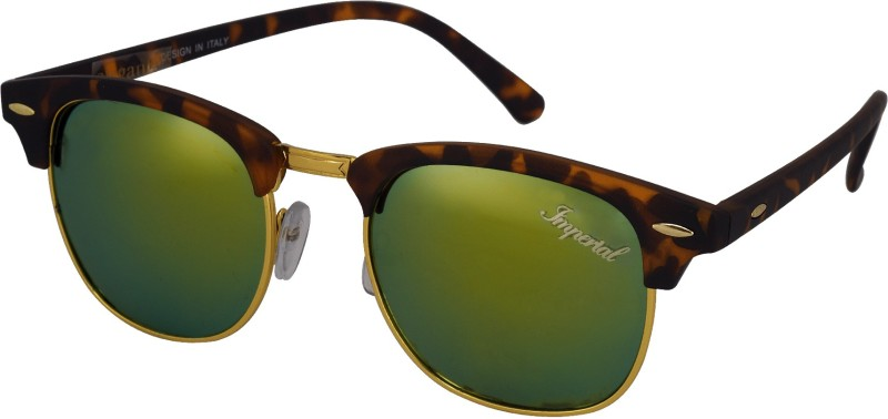Imperial Club Wayfarer Sunglasses(Green)