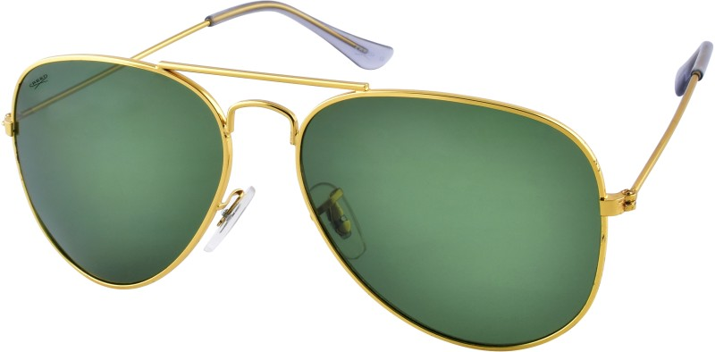 Creed Aviator Sunglasses(Green)