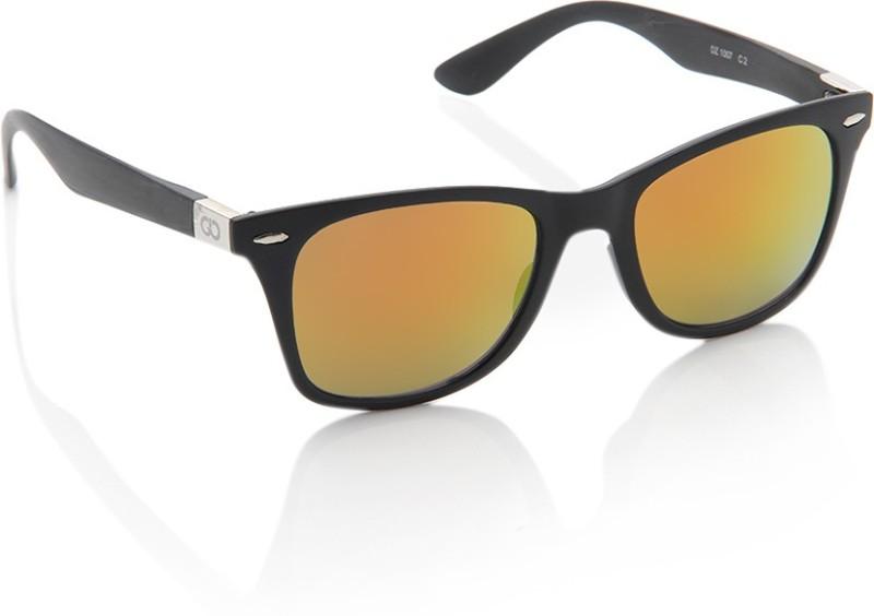 Gio Collection Wayfarer Sunglasses(Yellow) image