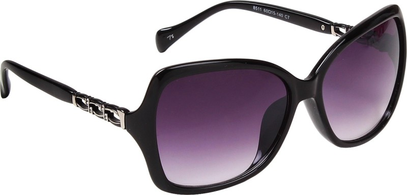 Ted Smith Cat-eye Sunglasses(Violet) image
