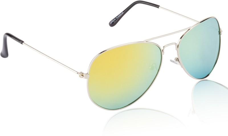 Glitters Aviator Sunglasses(Black) image.