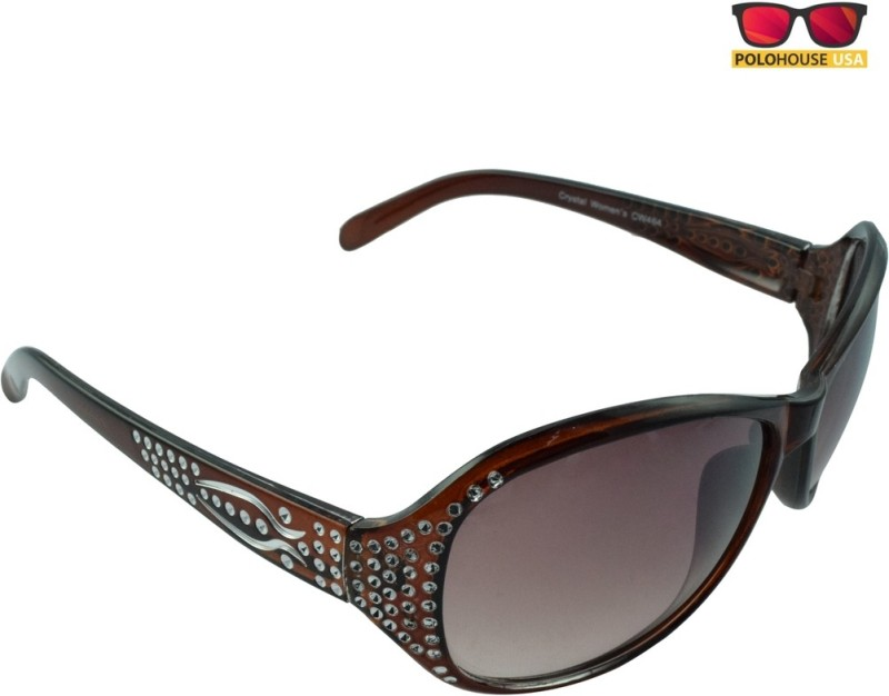 8ba31e1145 Polo House USA Oval Sunglasses Brown – Buy Sunglasses Online