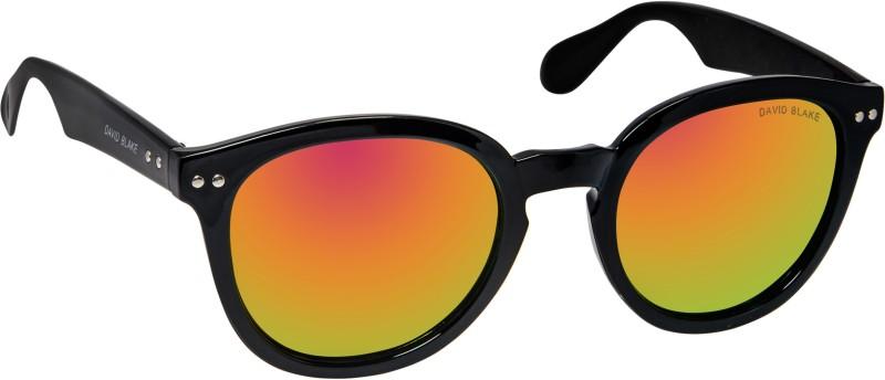 David Blake Round Sunglasses(Violet) image