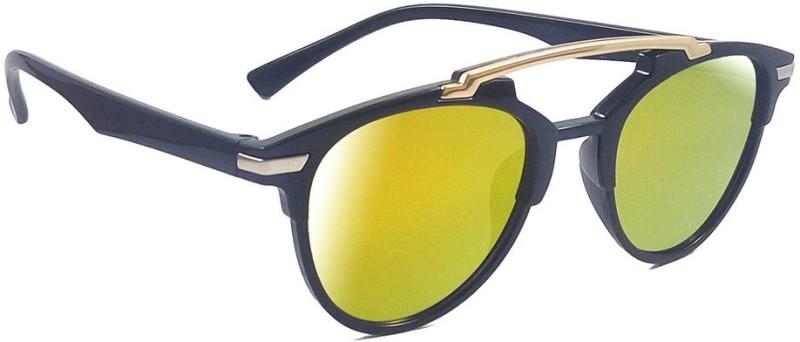 Aventus Round Sunglasses(Yellow)