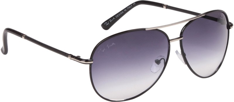 Ted Smith Aviator Sunglasses(Blue) image