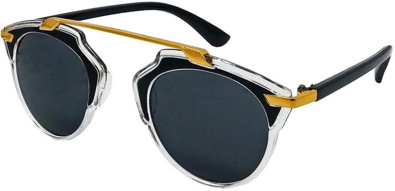 Aventus Cat-eye Sunglasses(Black)
