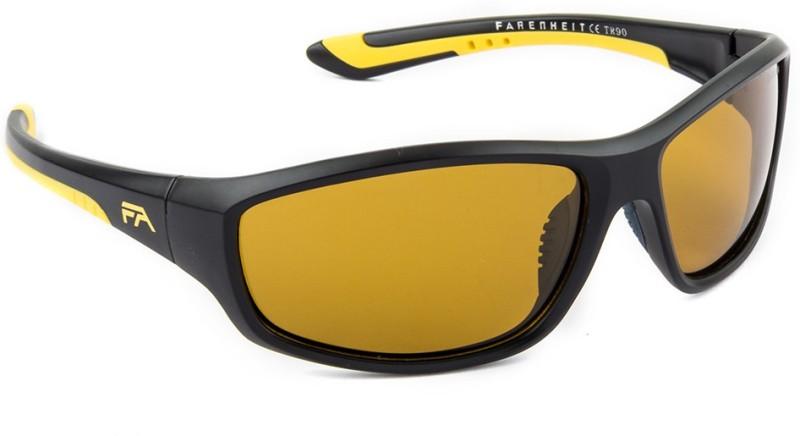 Farenheit Sports Sunglasses(Yellow) image