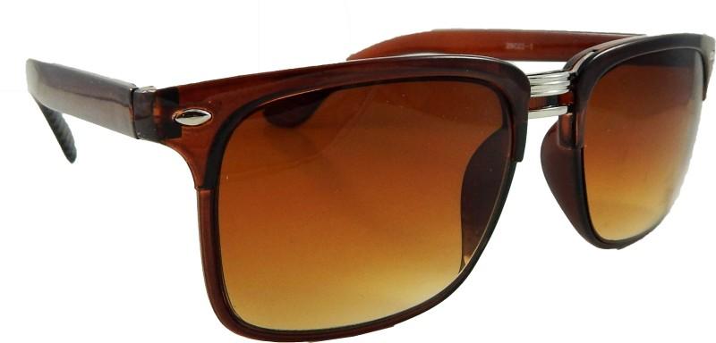 Els Rectangular Sunglasses(Brown) image
