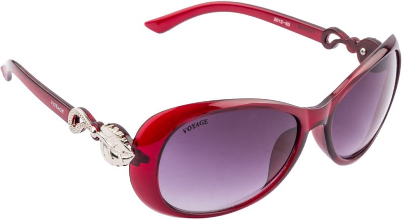 Voyage Oval Sunglasses(Black) image