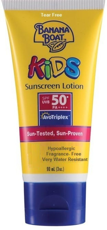 Banana Boat Kids Sunscreen Lotion - SPF 50+ PA+++(90 ml)