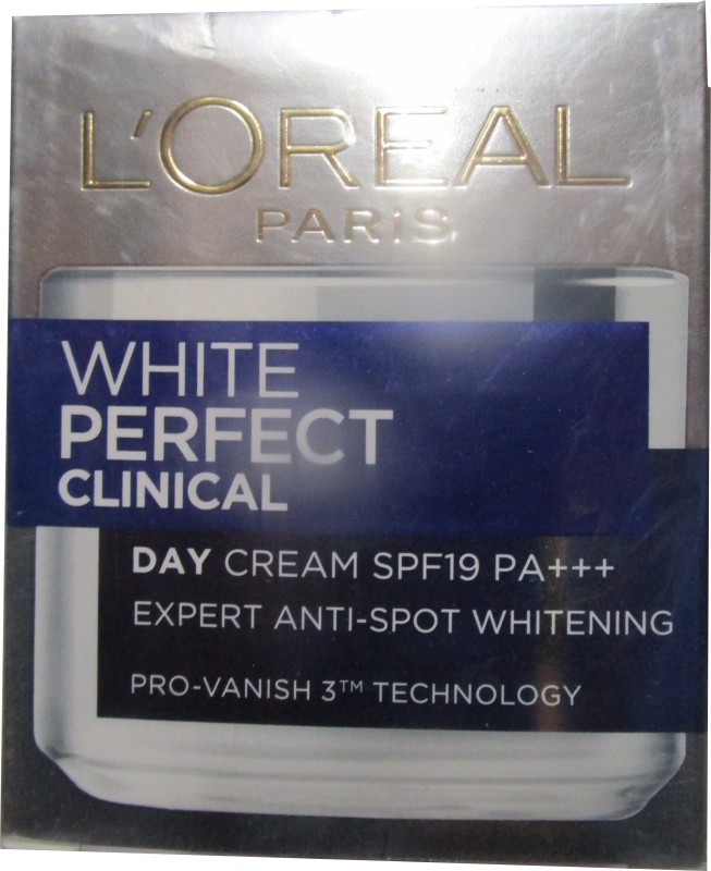 LOreal Paris White Perfect Clinical Day Cream SPF19 - SPF 19 PA+++(50 ml)