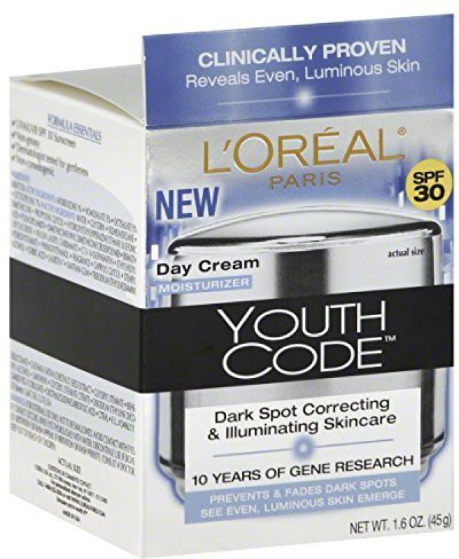 LOreal Paris Youth Code Even Day Cream - SPF 30(45 g)