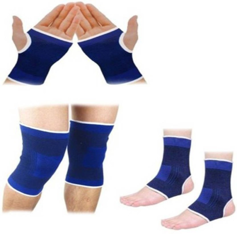 Sports Solutions ALL IN ONE SUPPORT PAIR OF Palm, Elbow & Ankle Support