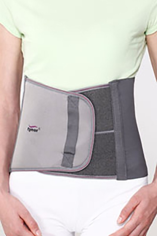 Tynor Abdominal Support for Post Operative/ Post Pregnancy - 9 Inches Large Waist Support (L, Grey)