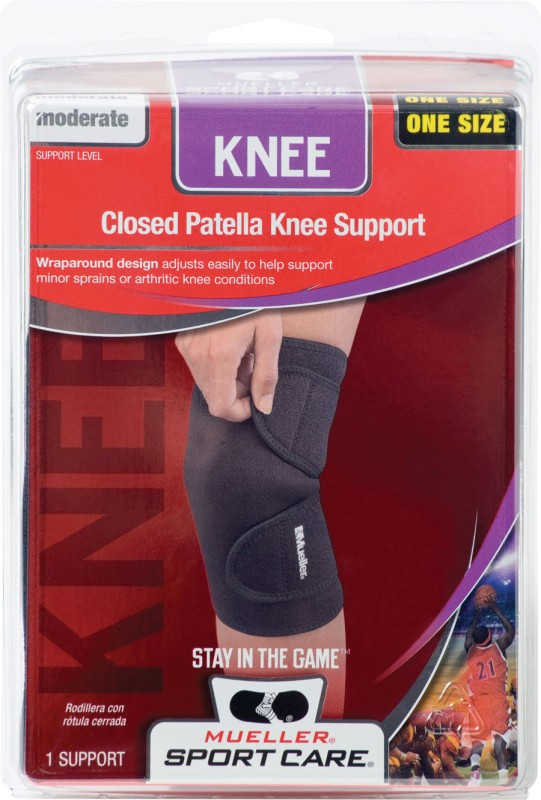 Mueller Neoprene Blend Closed Patella Knee Support