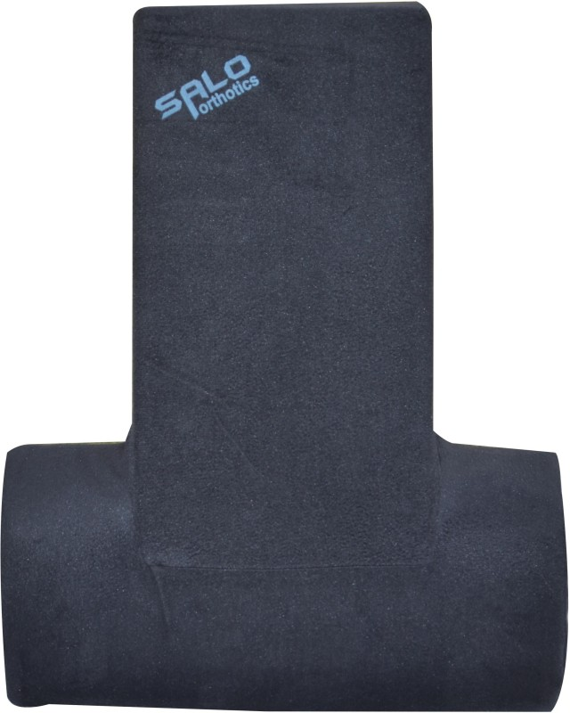 Salo Orthotics T-Shaped Cushion Back Support (Free Size, Blue)