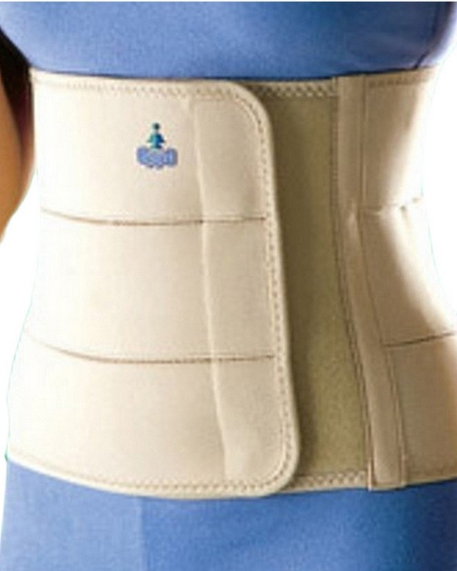 OPPO ABDOMINAL BINDER Back Support (L, Beige)