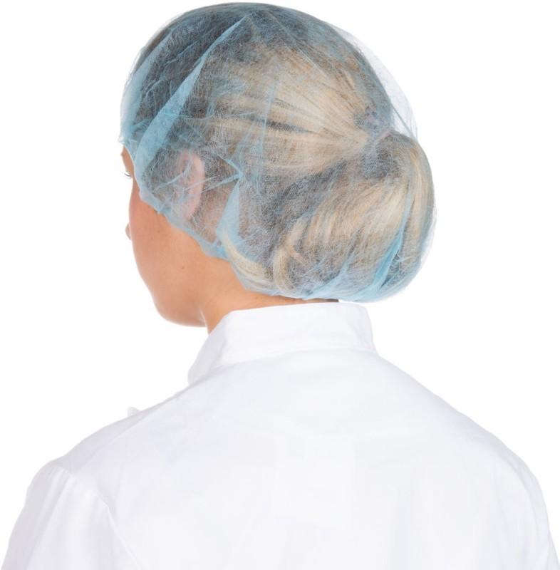 Salus BOUFFANT CAP BLUE Surgical Head Cap(Disposable)