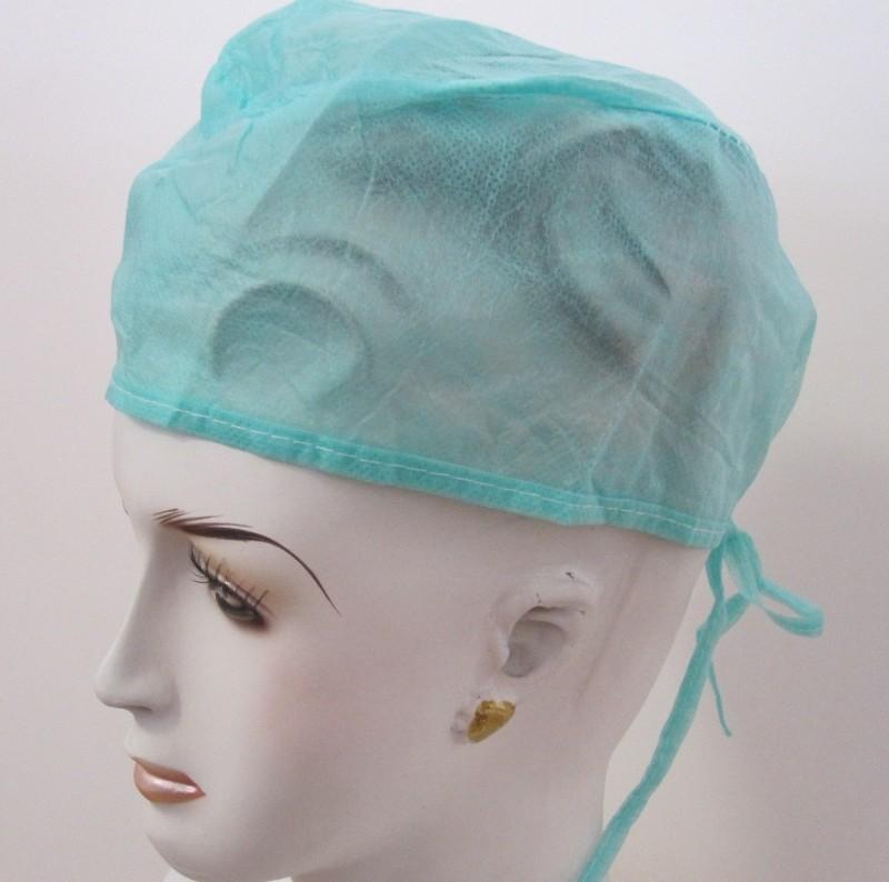 Salus SURGEON CAP WHITE Surgical Head Cap(Disposable)