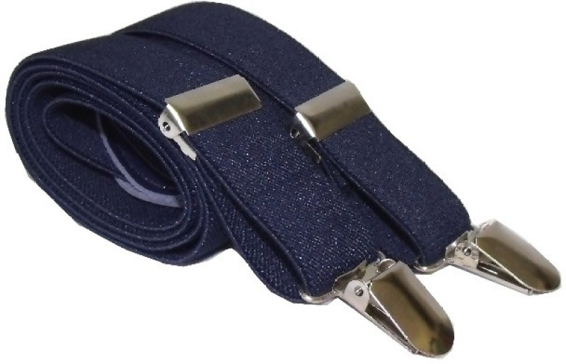 A&S Y- Back Suspenders for Men(Blue)