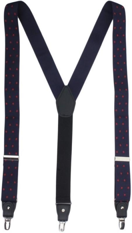 Alvaro Castagnino Y- Back Suspenders for Men(Blue, Red)