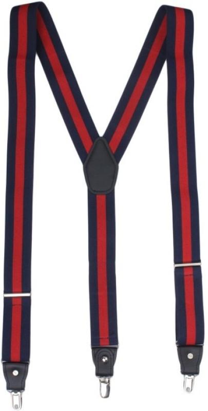 Alvaro Castagnino Y- Back Suspenders for Men(Red, Blue)