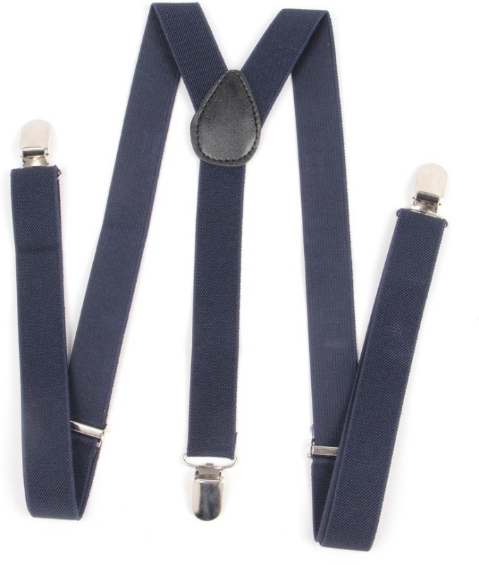 Homeshopeez Y- Back Suspenders for Men, Boys(Blue)