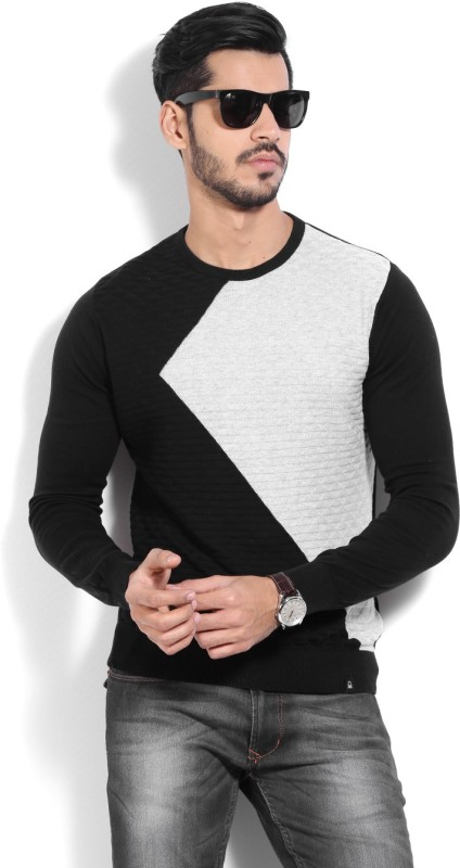 United Colors of Benetton. Men Black Sweater