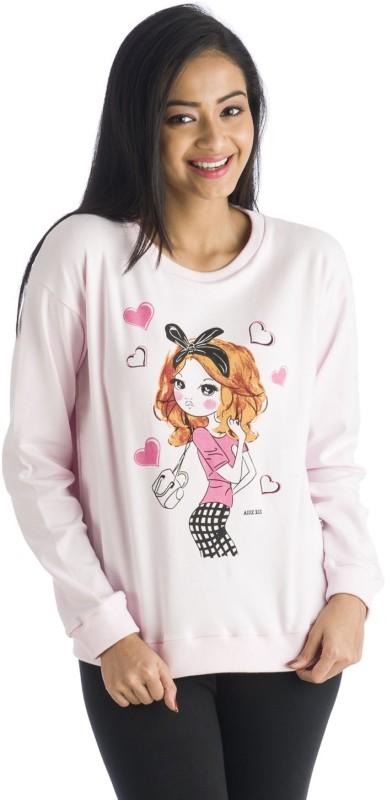 Nite Flite Full Sleeve Graphic Print Women's Sweatshirt